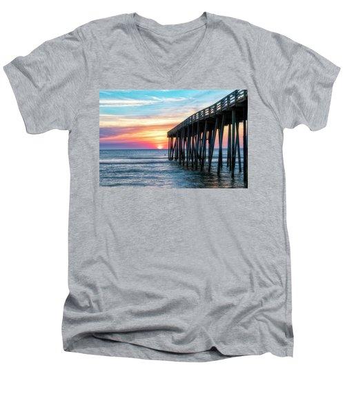 Moments Captured Men's V-Neck T-Shirt
