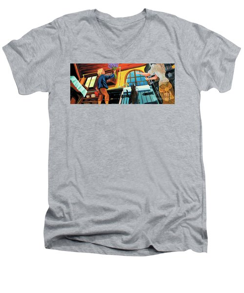 Mom's Kitchen Men's V-Neck T-Shirt