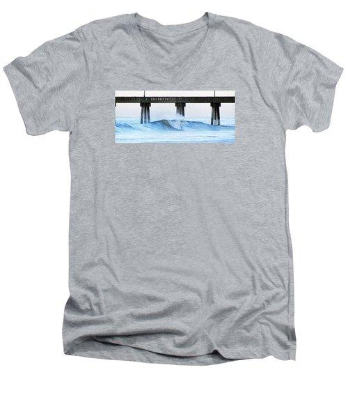 Monday At Mercer's Men's V-Neck T-Shirt by William Love