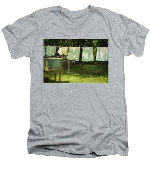 Monday Was Wash Day Men's V-Neck T-Shirt