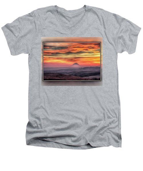 Monet Morning Men's V-Neck T-Shirt