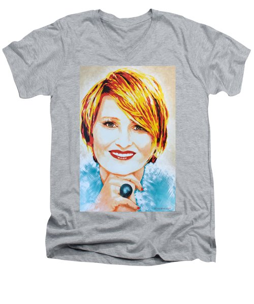 Monica Men's V-Neck T-Shirt