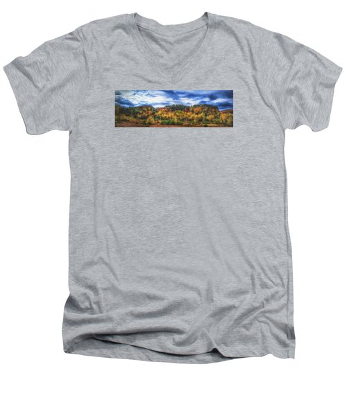 Monkton Ridge, Vt Men's V-Neck T-Shirt