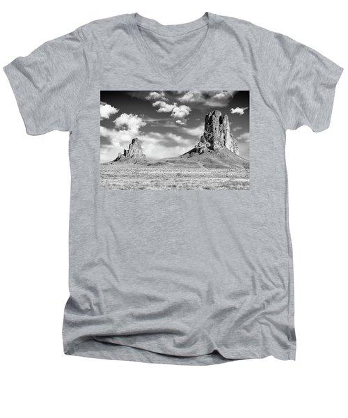 Monoliths Men's V-Neck T-Shirt by Jon Glaser