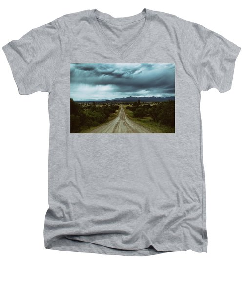 Monsoons From The Meadows Men's V-Neck T-Shirt by Jason Coward