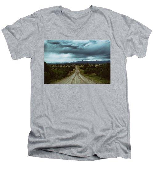 Monsoons From The Meadows Men's V-Neck T-Shirt