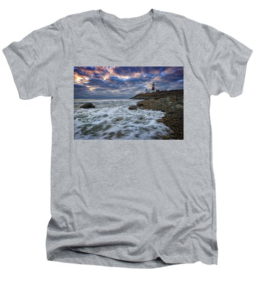 Montauk Morning Men's V-Neck T-Shirt