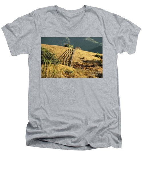 Monterey Hills Men's V-Neck T-Shirt