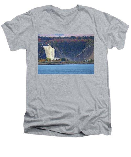 Montmorency Falls Men's V-Neck T-Shirt