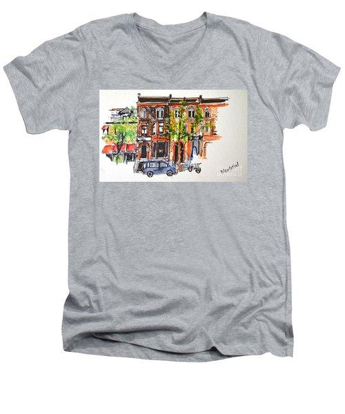 Montreal 1 Men's V-Neck T-Shirt