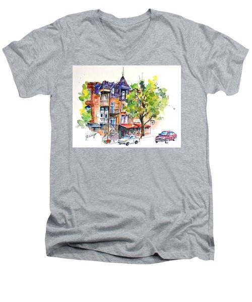 Montreal - 2 Men's V-Neck T-Shirt