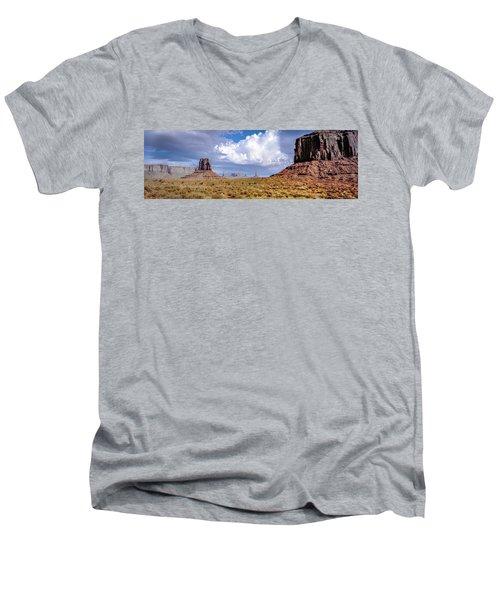 Monument Valley Mittens Men's V-Neck T-Shirt