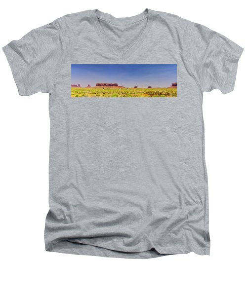 Monument Valley South View Men's V-Neck T-Shirt