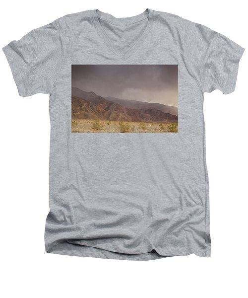 Moods Of Death Valley National Park Men's V-Neck T-Shirt