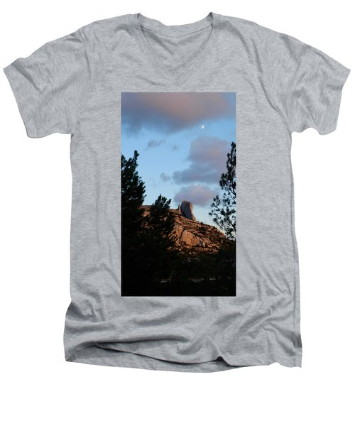 Moon And Rock Men's V-Neck T-Shirt
