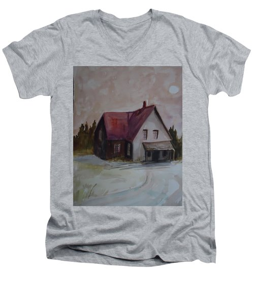 Moon House Men's V-Neck T-Shirt