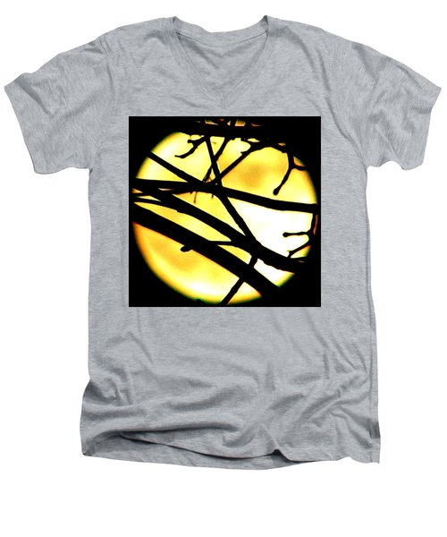 Moon Iv Men's V-Neck T-Shirt