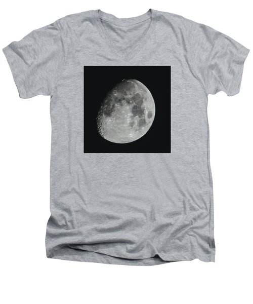 Moon On Day 12 Men's V-Neck T-Shirt