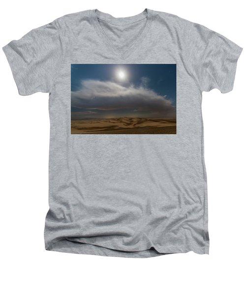 Moon Sparkle Men's V-Neck T-Shirt