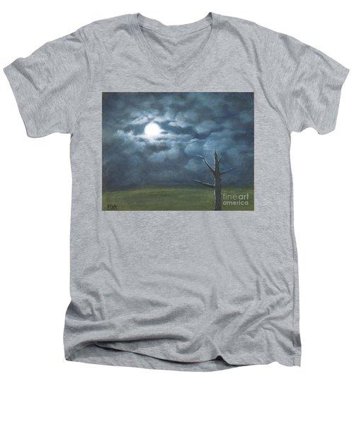 Moonglow Men's V-Neck T-Shirt
