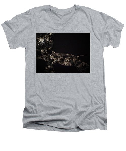 Moonlight Men's V-Neck T-Shirt