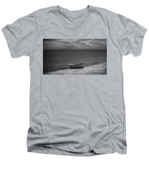 Moonlight Paddle Men's V-Neck T-Shirt