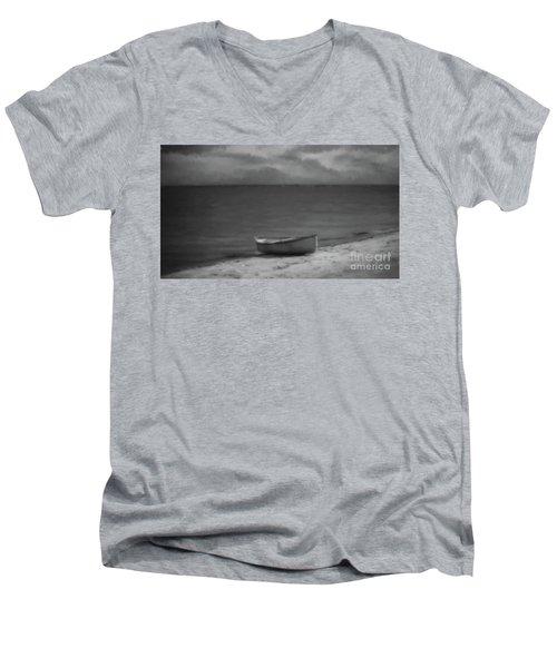 Moonlight Paddle Men's V-Neck T-Shirt