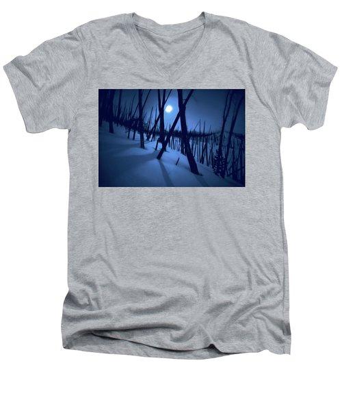 Moonshadows Men's V-Neck T-Shirt