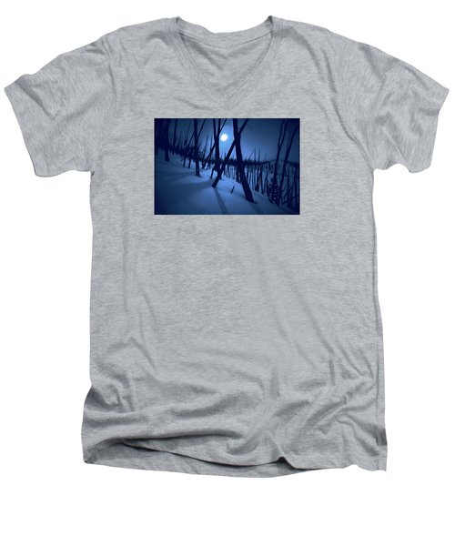 Moonshadows Men's V-Neck T-Shirt