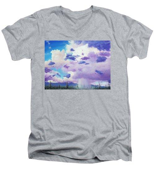 Moonsoon Beauty Men's V-Neck T-Shirt