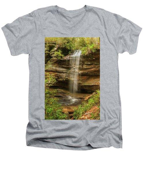 Moore Cove Falls Men's V-Neck T-Shirt