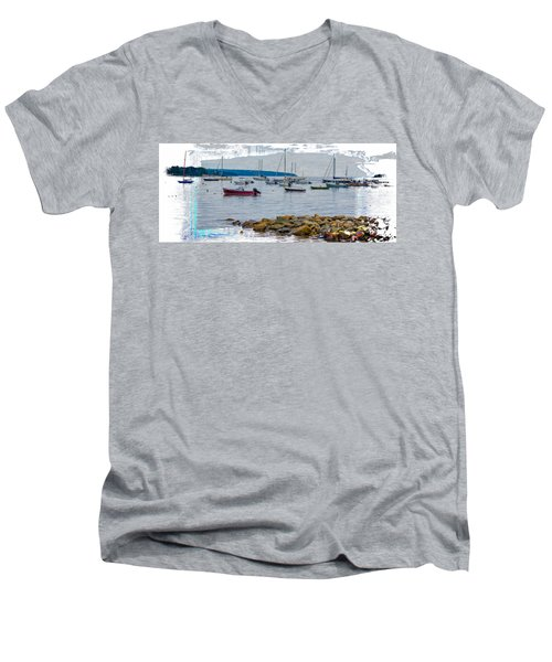 Moorings Mug Shot Men's V-Neck T-Shirt