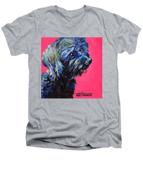 Moppet Men's V-Neck T-Shirt by Arleana Holtzmann