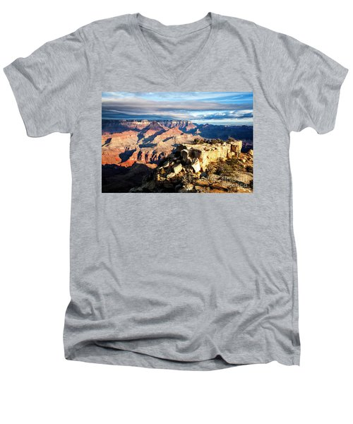 Moran Point 2 Men's V-Neck T-Shirt