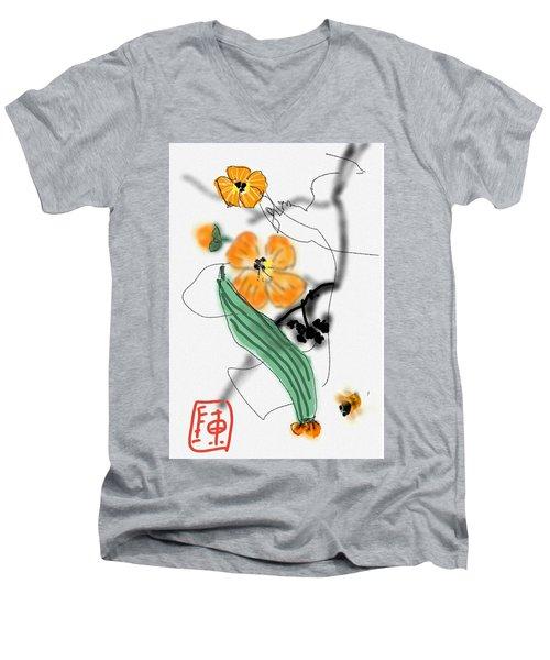 More Bitter Melon  Men's V-Neck T-Shirt