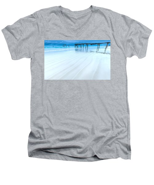 Morning Blues Men's V-Neck T-Shirt