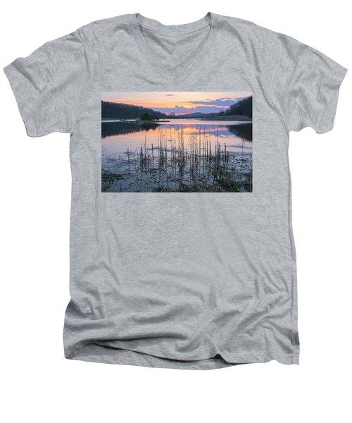 Morning Calmness Men's V-Neck T-Shirt
