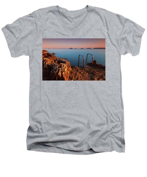 Morning Colors Men's V-Neck T-Shirt