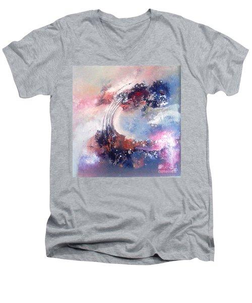 Morning Glory 110 Men's V-Neck T-Shirt