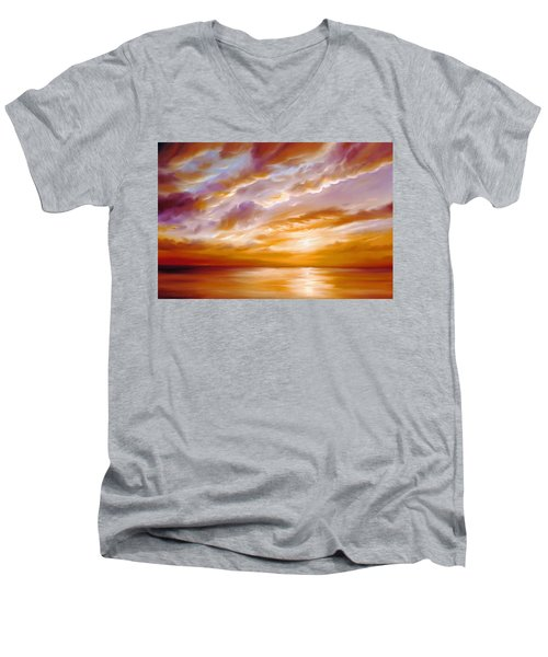 Morning Grace Men's V-Neck T-Shirt