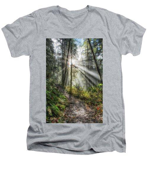 Morning Hike Men's V-Neck T-Shirt