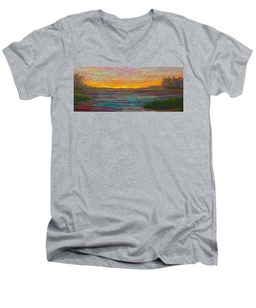 Southern Sunrise Men's V-Neck T-Shirt