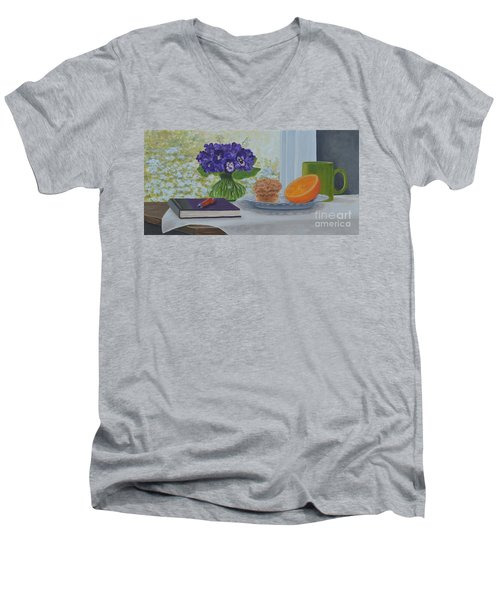 Morning Journal Men's V-Neck T-Shirt