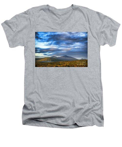 Morning Light Men's V-Neck T-Shirt by Alana Ranney
