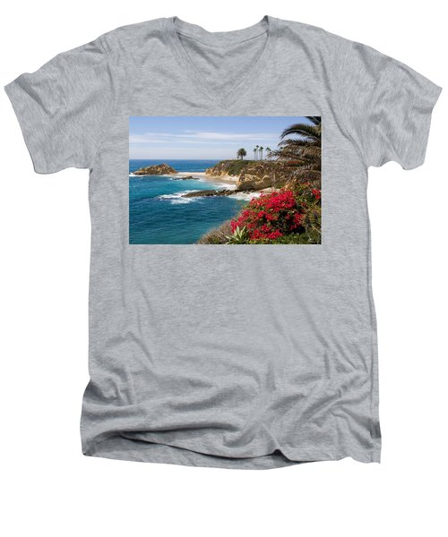 Morning Light Montage Resort Laguna Beach Men's V-Neck T-Shirt