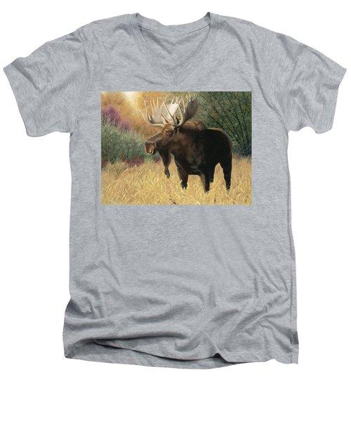 Morning Majesty Men's V-Neck T-Shirt
