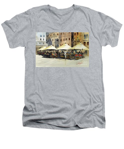 Morning Market Men's V-Neck T-Shirt