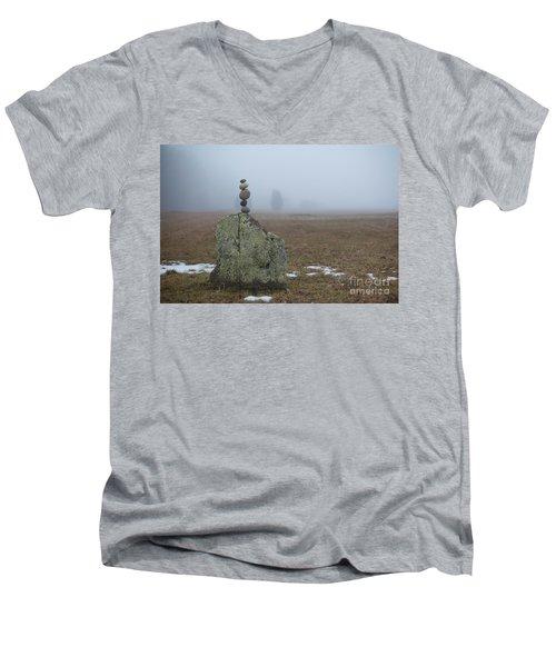 Morning Meditation Men's V-Neck T-Shirt