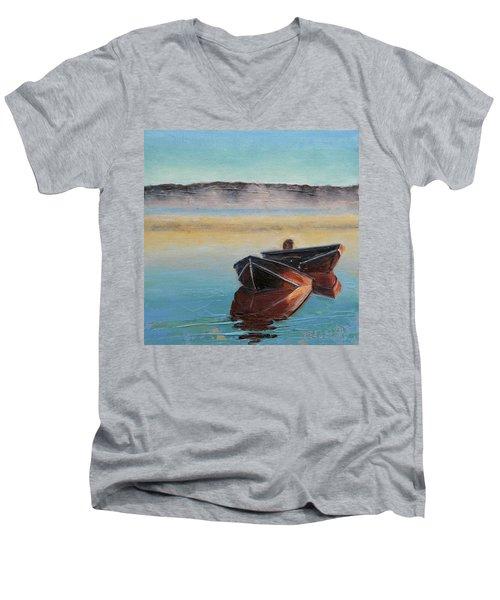 Morning Mist Men's V-Neck T-Shirt