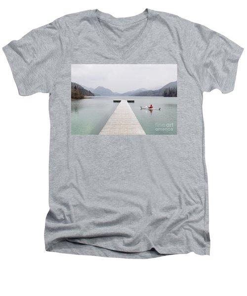 Morning Patrol Men's V-Neck T-Shirt by JR Photography